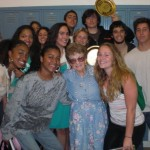Mama G with some of our class