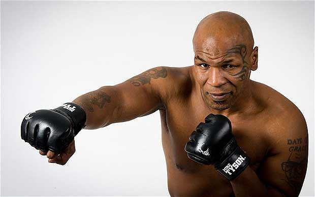 Mike Tyson Kicks The Habit