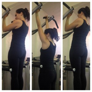modified chin up