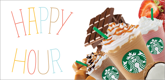 Starbucks Happy Hour Deals