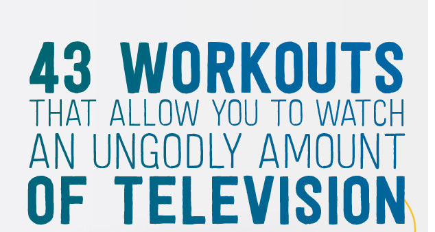 Work Out & Watch TV