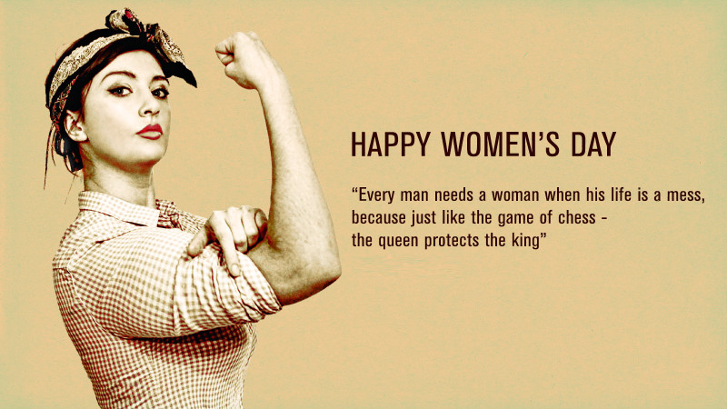 Women's Day Quotes International Women's Day  Give Me Mora