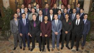 A bevy of 25 guys choose this season's Bachelorette