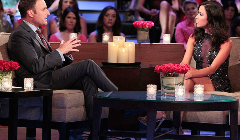 Kaitlyn and Chris Harrison chat about her bros on The Men Tell All