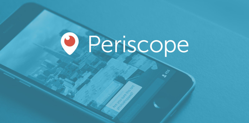 Now On Periscope!
