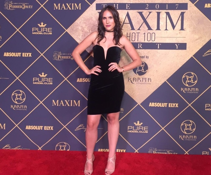 Celebs Brought The Heat To The MAXIM Hot 100 Party